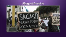 Etiquetaje; Sagasti asesino: los peruanos piden su renuncia