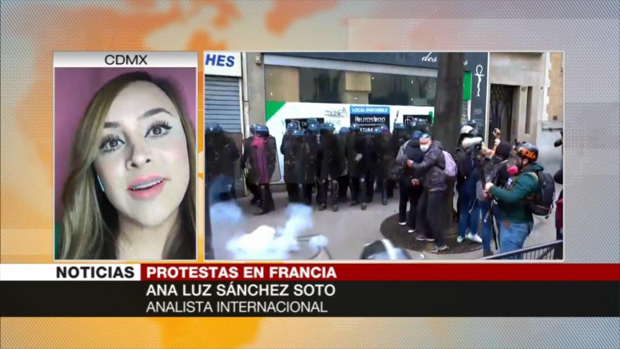 Sánchez: Ley de seguridad, riesgosa para la democracia francesa