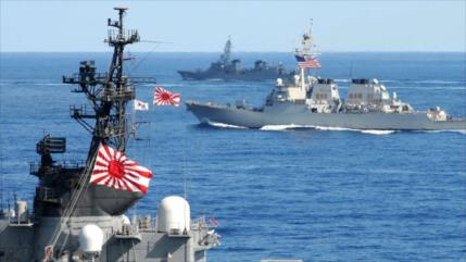 Japón, Francia y EEUU planean ejercicios militares conjuntos