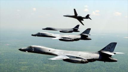 Aumentan vuelos de bombarderos estratégicos de EEUU cerca de Rusia