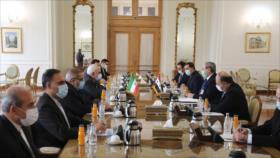 Zarif: Irán y Siria deben estar más atentos y estrechar sus lazos
