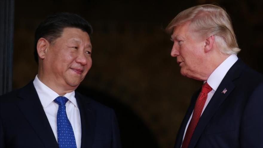El presidente chino, Xi Jinping, realiza su primera visita en la Casa Blanca al presidente de EE.UU., Donald Trump.