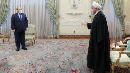 """""""Lucha contra sionistas y terroristas, meta común de Irán y Siria"""""""