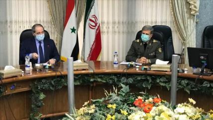 Irán, decidido a ayudar a Siria en la era de la reconstrucción