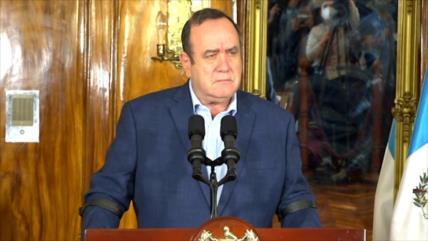 Presidente de Guatemala anuncia cierre del Centro de Gobierno