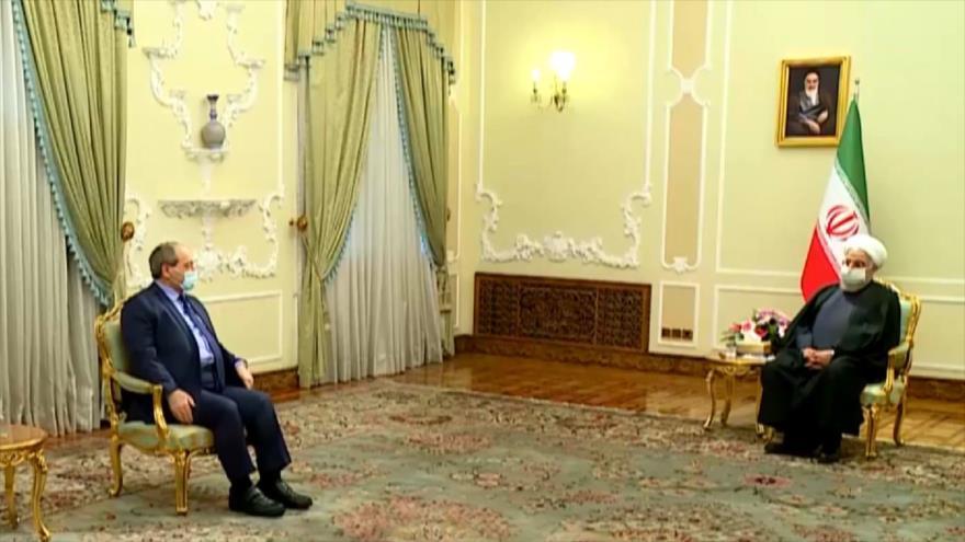 Lucha antiterrorista, eje principal de diálogos entre Irán y Siria