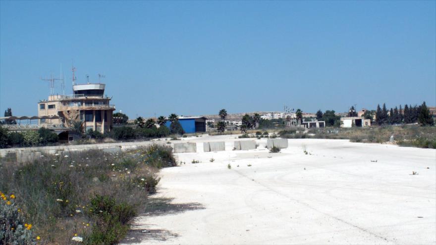 Aeropuerto de Qalandia en la ocupada Al-Quds, Jerusalén.