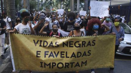86 % de muertos en redadas policiales en Río de Janeiro son negros