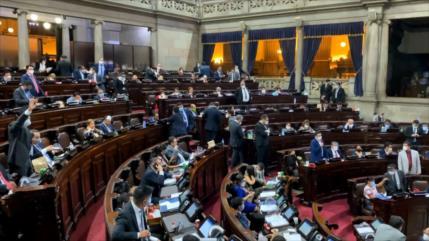 Congreso de Guatemala ratifica ampliación del estado de calamidad