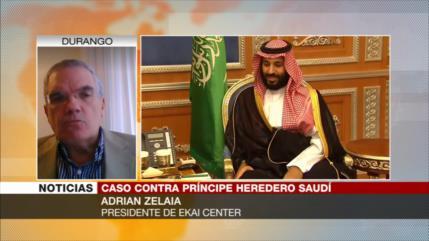 Zelaia: Bin Salman intenta eludir a la justicia de EEUU