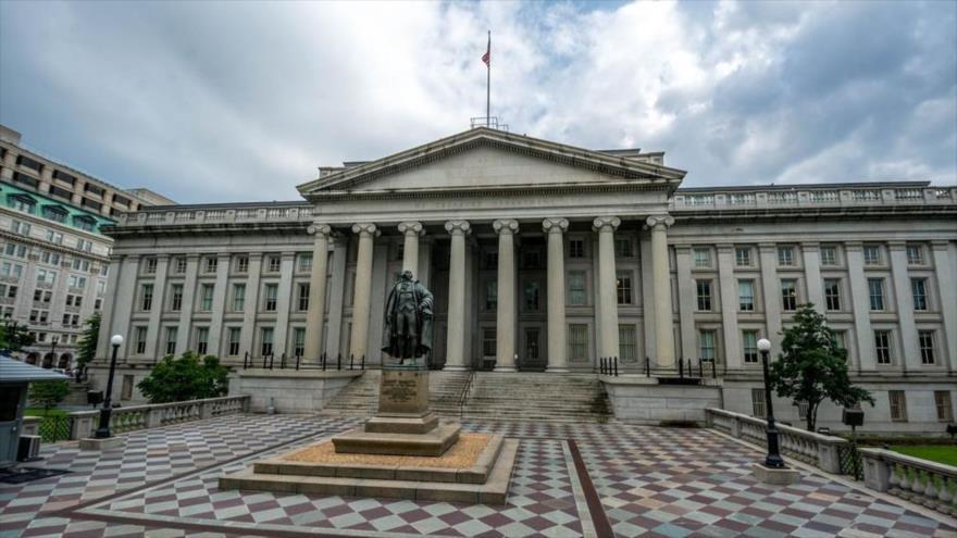 La sede del Departamento de Estado de EE.UU. en Washington D.C., la capital.