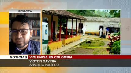 Gaviria: Sin voluntad política no acabará matanzas en Colombia