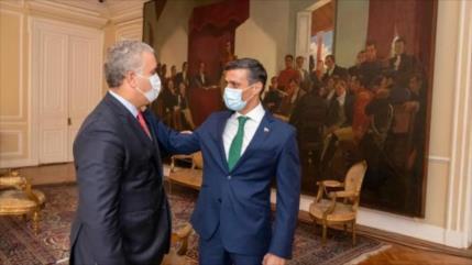 Presidente colombiano admite haber ayudado a huir a Leopoldo López
