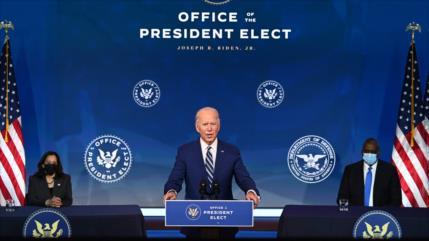 """Biden planea revisar """"confusa"""" política de sanciones a Venezuela"""