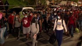Nueva caravana de migrantes parte de Honduras rumbo a EEUU