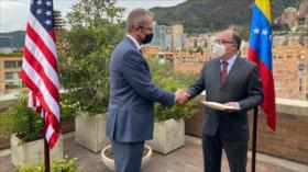 Arreaza a 'embajador' de EEUU: Tu oficina en Caracas te espera