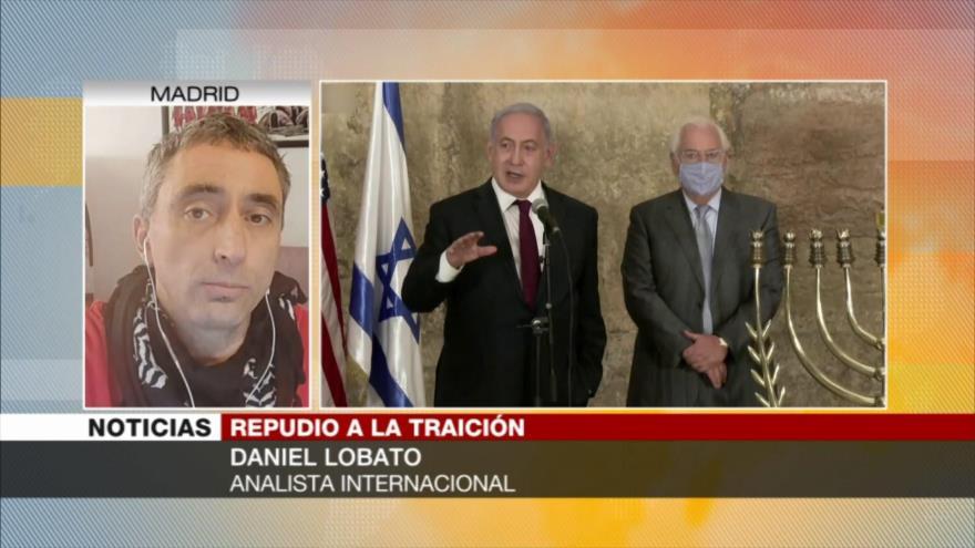 Daniel Lobato: Marruecos traicionó a Palestina como lo hizo en 1965   HISPANTV