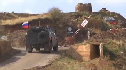 Rusia envía tropas al Golán sirio para prevenir un ataque israelí