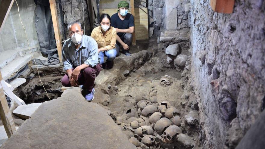 Descubren 119 cráneos de sacrificios aztecas en México | HISPANTV