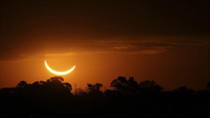 Anochece en pleno día en Argentina y Chile por eclipse solar
