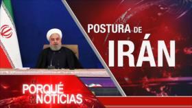 El Porqué de las Noticias: Postura de Irán. Elecciones de EEUU. Masacres en Colombia