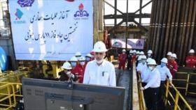 Irán inicia obras de perforación en campo de gas en Golfo Pérsico