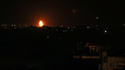 Artillería de Israel bombardea el centro de la Franja de Gaza