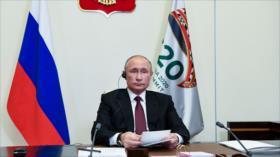 Putin felicita a Biden por su victoria electoral en EEUU