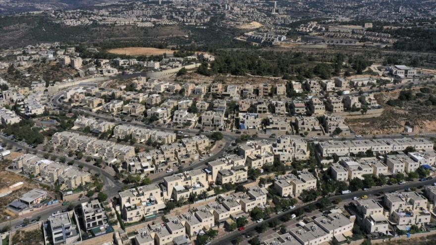 El asentamiento israelí de Har Gilo en la Cisjordania ocupada, 13 de octubre de 2020. (Foto: AFP)