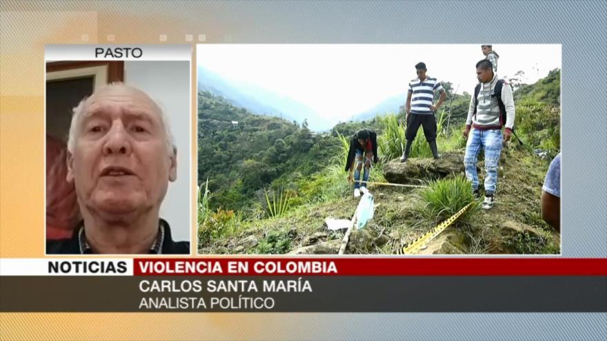 Santa María: La violencia en Colombia es un crimen de Estado