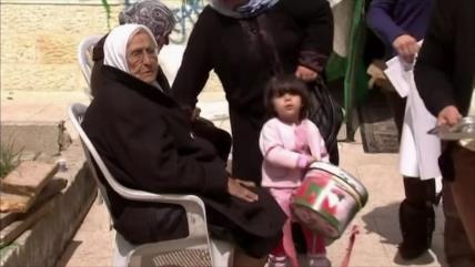 Decenas de palestinos se enfrentan a desalojo por orden de Israel