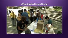 Etiquetaje; Consulta de Guaidó: la gente no apoya al líder opositor