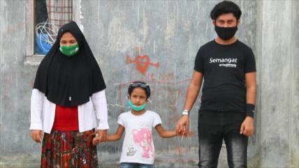 Joven Rohingya encuentra a esposa e hija, a quienes creía muertas