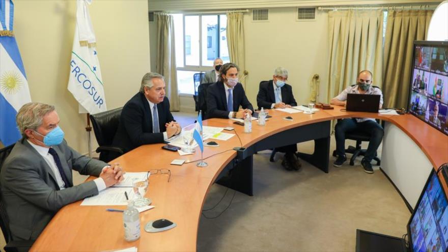 Presidente de Argentina asume presidencia temporal de Mercosur
