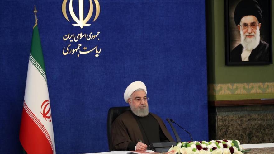 Rohani: Resistencia de iraníes obligará a EEUU a rendirse   HISPANTV