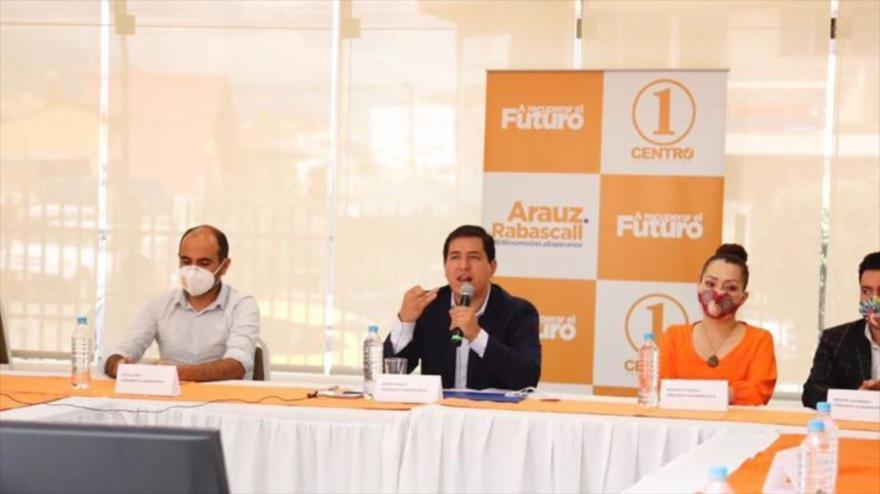 "Arauz denuncia ""golpe contra la democracia ecuatoriana"" en curso | HISPANTV"
