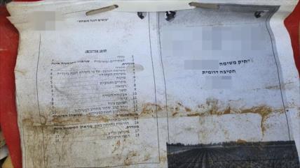 'Tropas israelíes dejan documentos secretos en un puesto en Gaza'