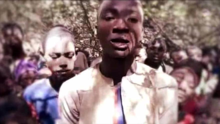 Boko Haram publica vídeo de cientos de alumnos secuestrados   HISPANTV