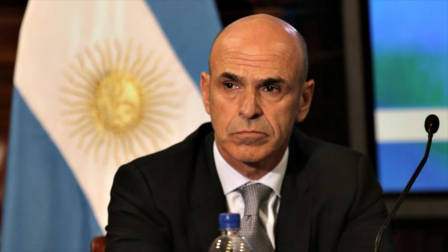 El exdirector de la Agencia Federal de Inteligencia (AFI) de Argentina Gustavo Arribas.