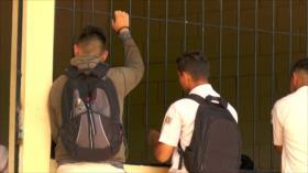 Niños y niñas hondureñas son expulsados del sistema educativo