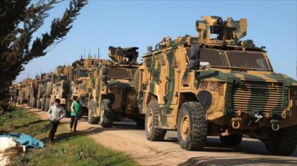 Turquía evacúa a sus militares de 7 bases rodeadas por Ejército sirio