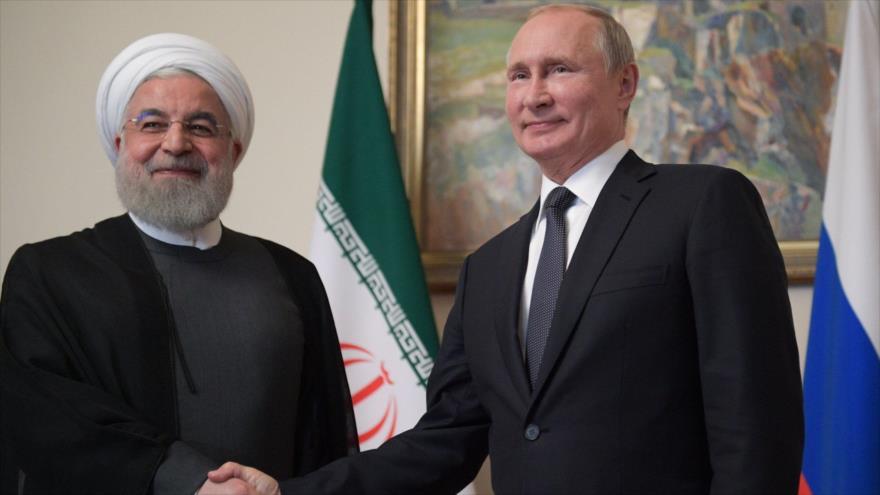 Irán y Rusia cooperarán en campo militar pese a sanciones de EEUU   HISPANTV