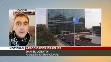 Lobato: Israel mata a niños palestinos para disuadir su colapso