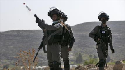 Fuerzas israelíes disparan en la cara a un joven palestino