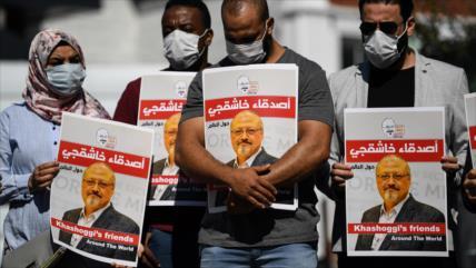 Novia de Khashoggi exige a Biden revelar informe secreto de CIA