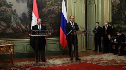 Rusia y Siria reiteran rechazo a despliegue de armas en el espacio