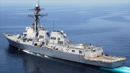 China persigue a buque de guerra de EEUU en el estrecho de Taiwán