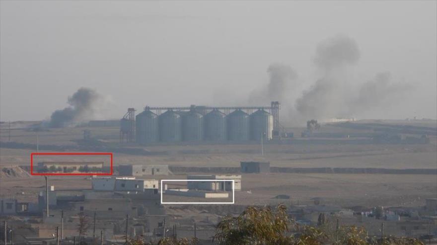 Fuerzas armadas de Turquía golpean algunos puntos pertenecientes a Fuerzas Democráticas Sirias en Al-Raqa, 18 de diciembre de 2020. (Foto: @Krummapper)