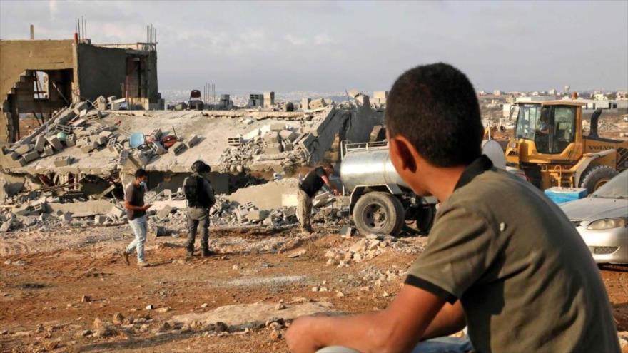 ONU: Demoliciones israelíes baten récord mensual en una década