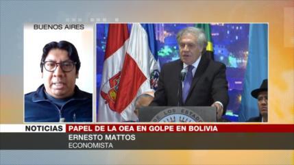 Mattos: Almagro tendrá que responder por alegar fraude en Bolivia